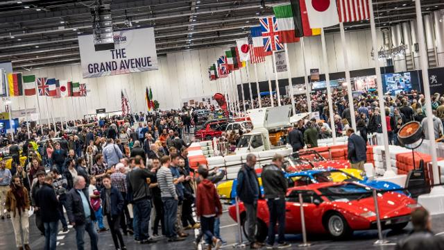 The London Classic Car Show At ExCeL London So Hotels And Serviced - London classic car show 2018